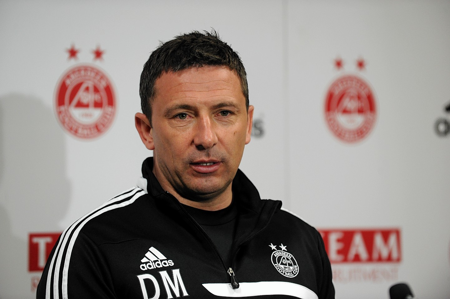 Dons manager Derek McInnes has faith in his squad