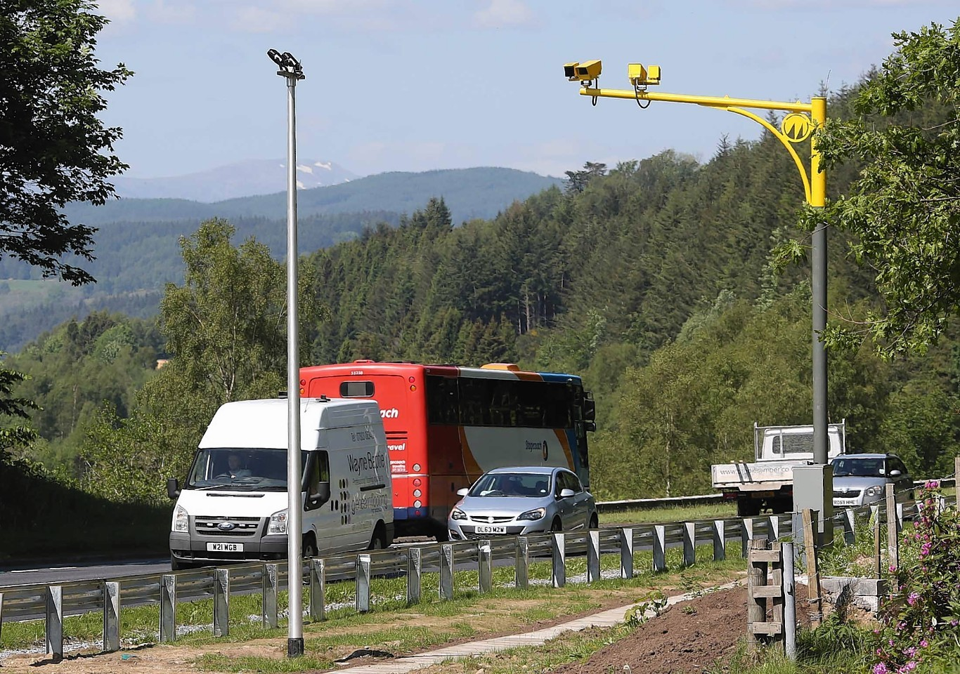 MSP David Stewart is calling for action on slow driving on the A9