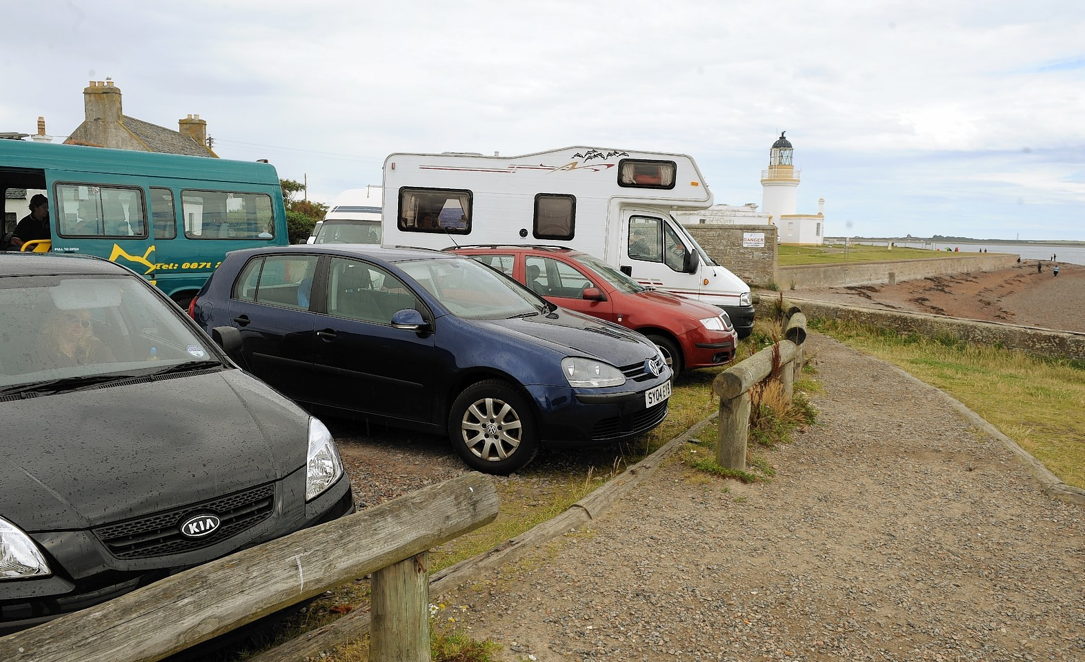 The existing facilities at Chanonry Point