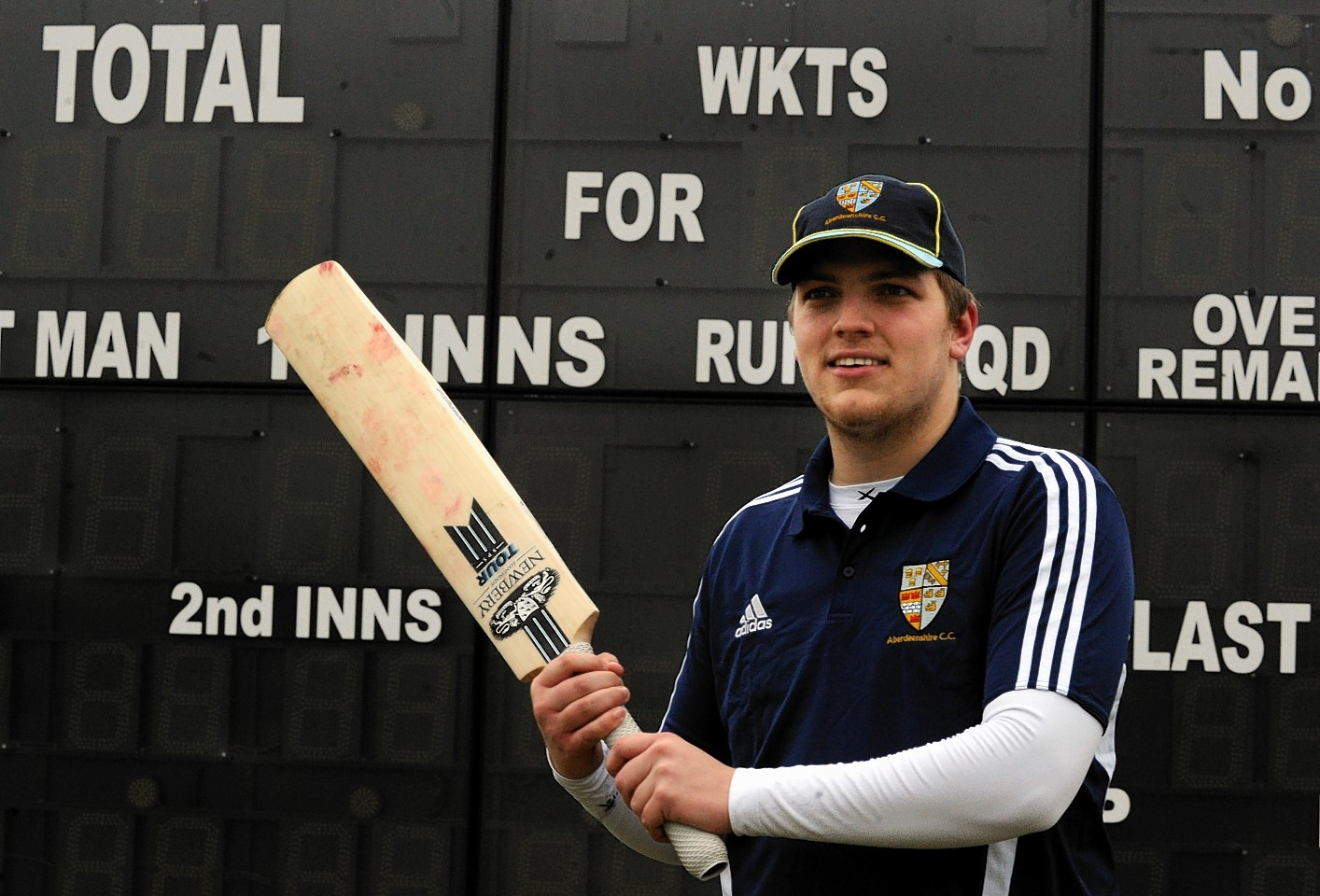 Shire batsman Chris Venske is back in action following a month out with a broken bone in his hand