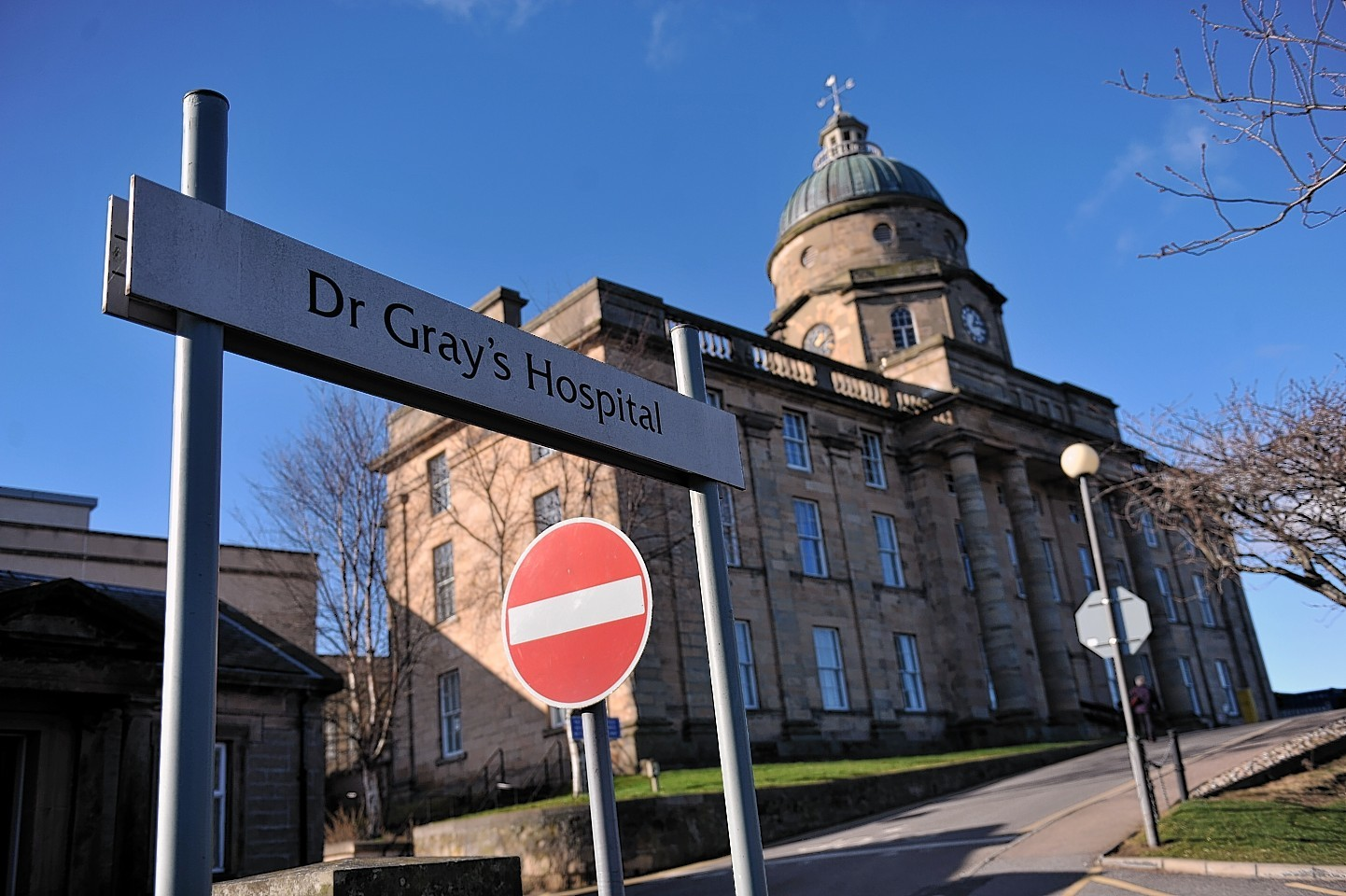 Dr Gray''s Hospital in Elgin