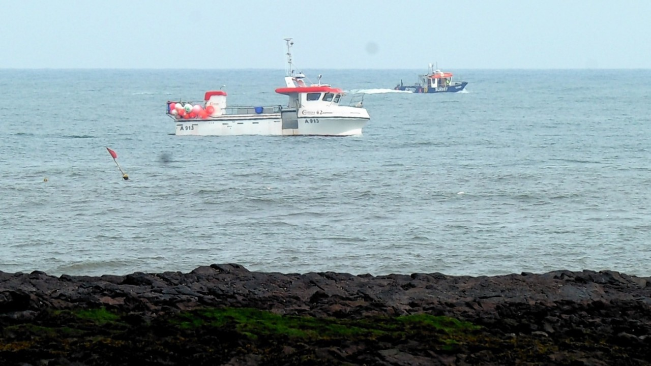 Several ships are involved in the search up to twenty miles off shore