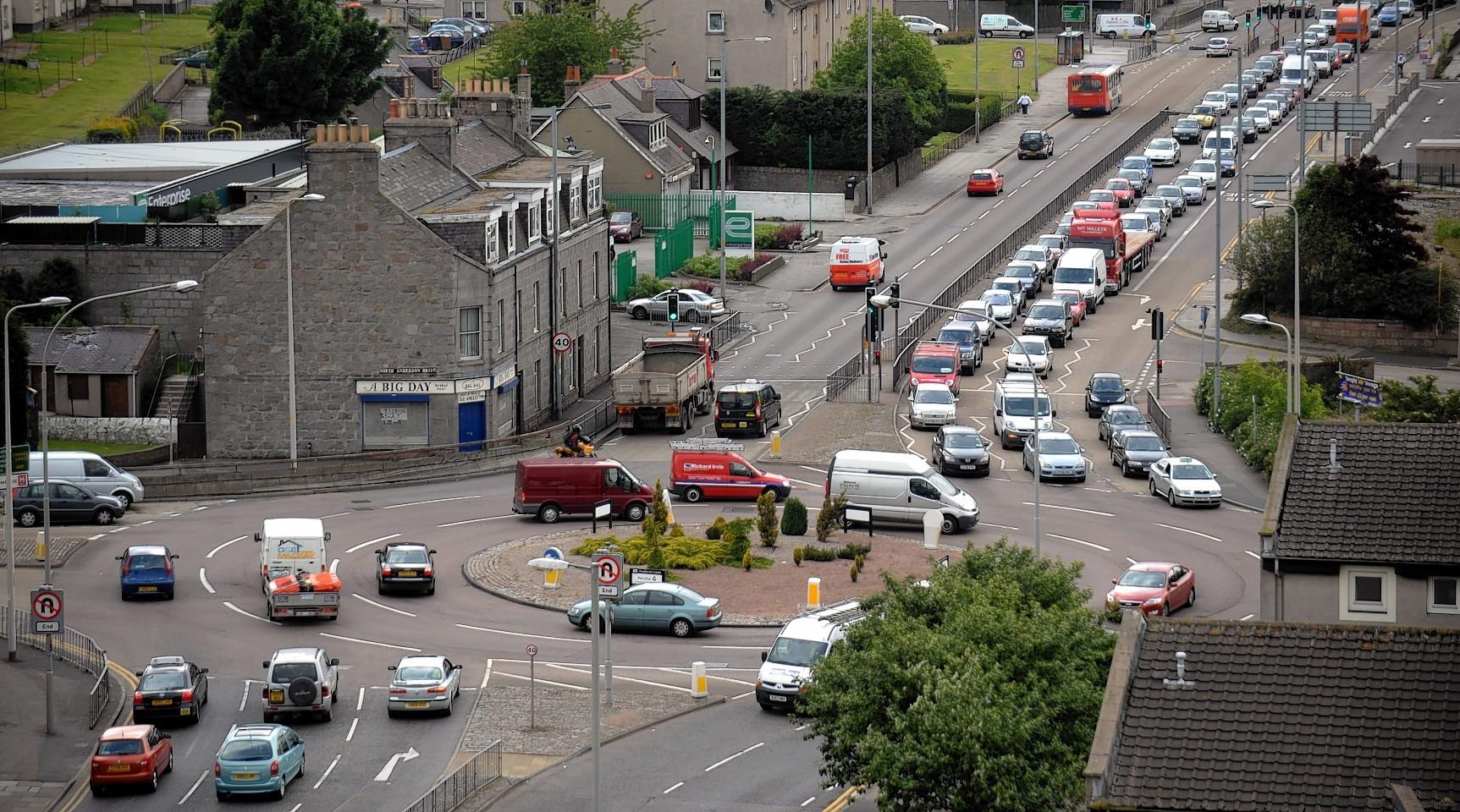 Haudagain Roundabout, Aberdeen