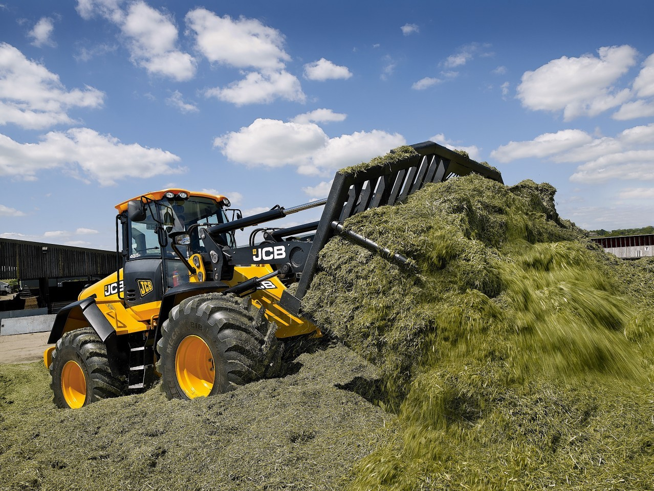 Agricultural machinery sales are down on last year