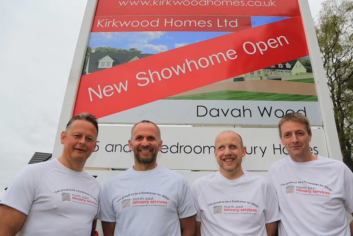 The Inverurie businessmen head off on the charity trek soon