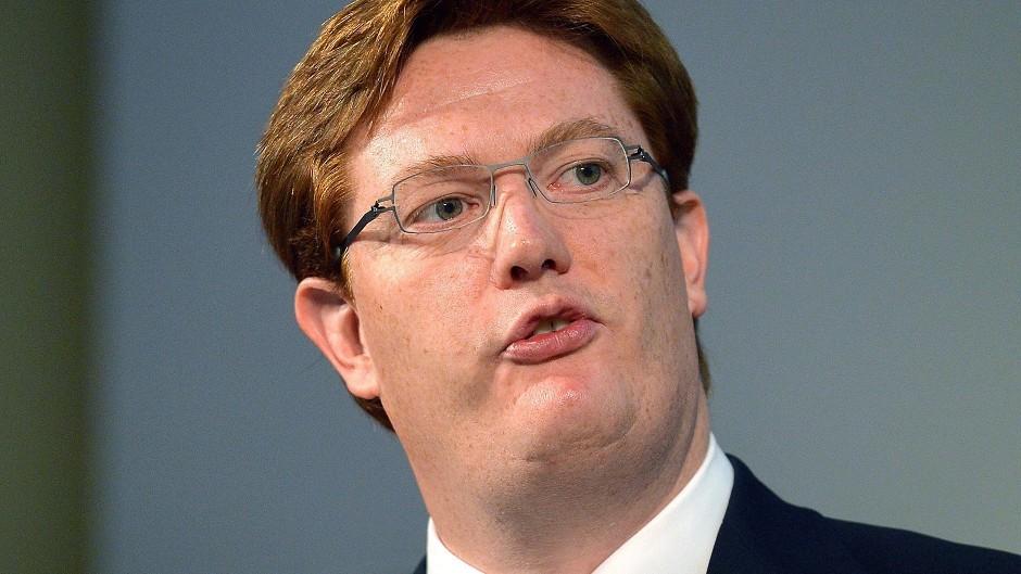 Chief Treasury Secretary Danny Alexander