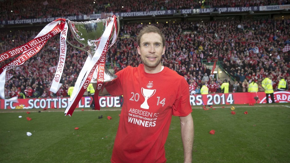 Russell Anderson will remain with Aberdeen