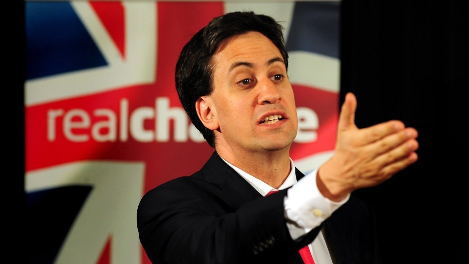"""Ed Miliband said leaving the European Union was """"not the answer""""."""
