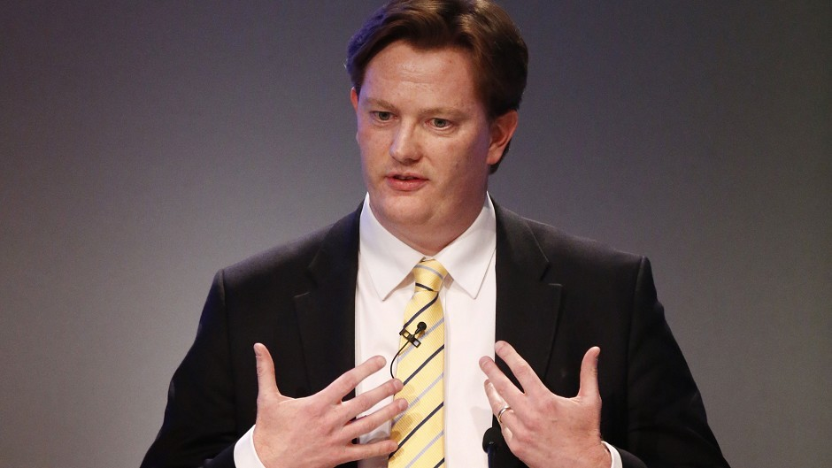 Danny Alexander said Scots will be 1,400 pounds better off if they reject independence