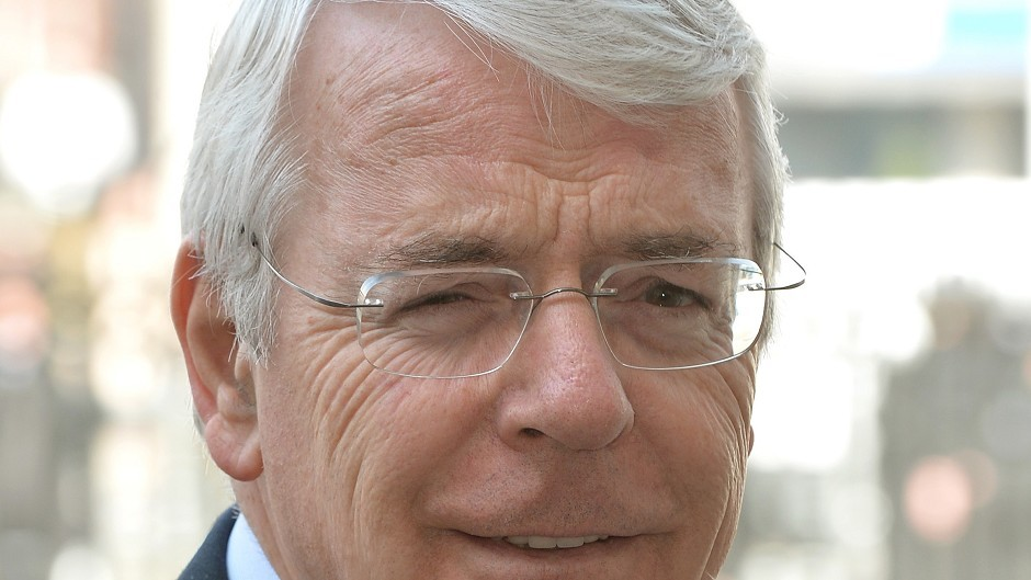 "Sir John Major has said SNP claims that a no vote means no action was ""frankly absurd""."