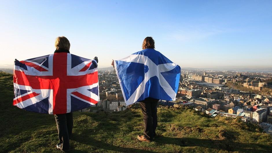A row has broken out over Scotland's wealth