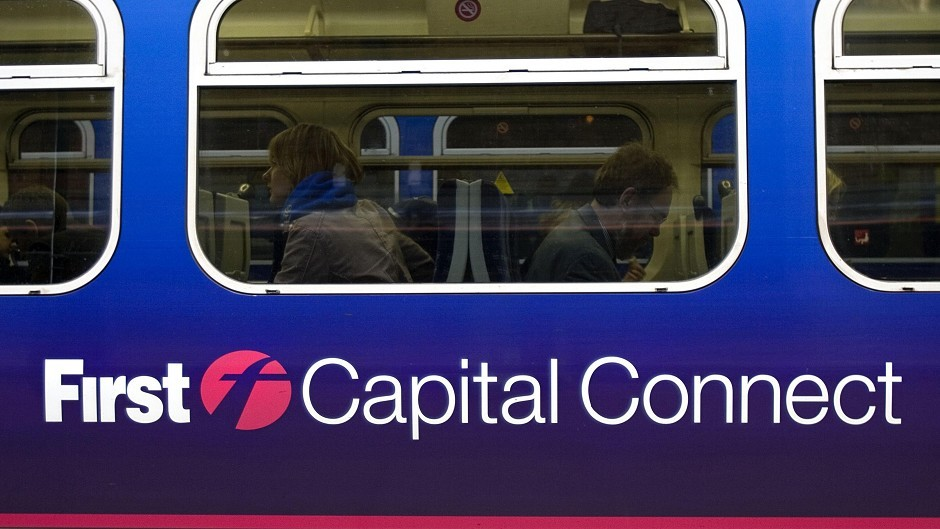 FirstGroup currently runs trains services under the FirstCapitalConnect banner