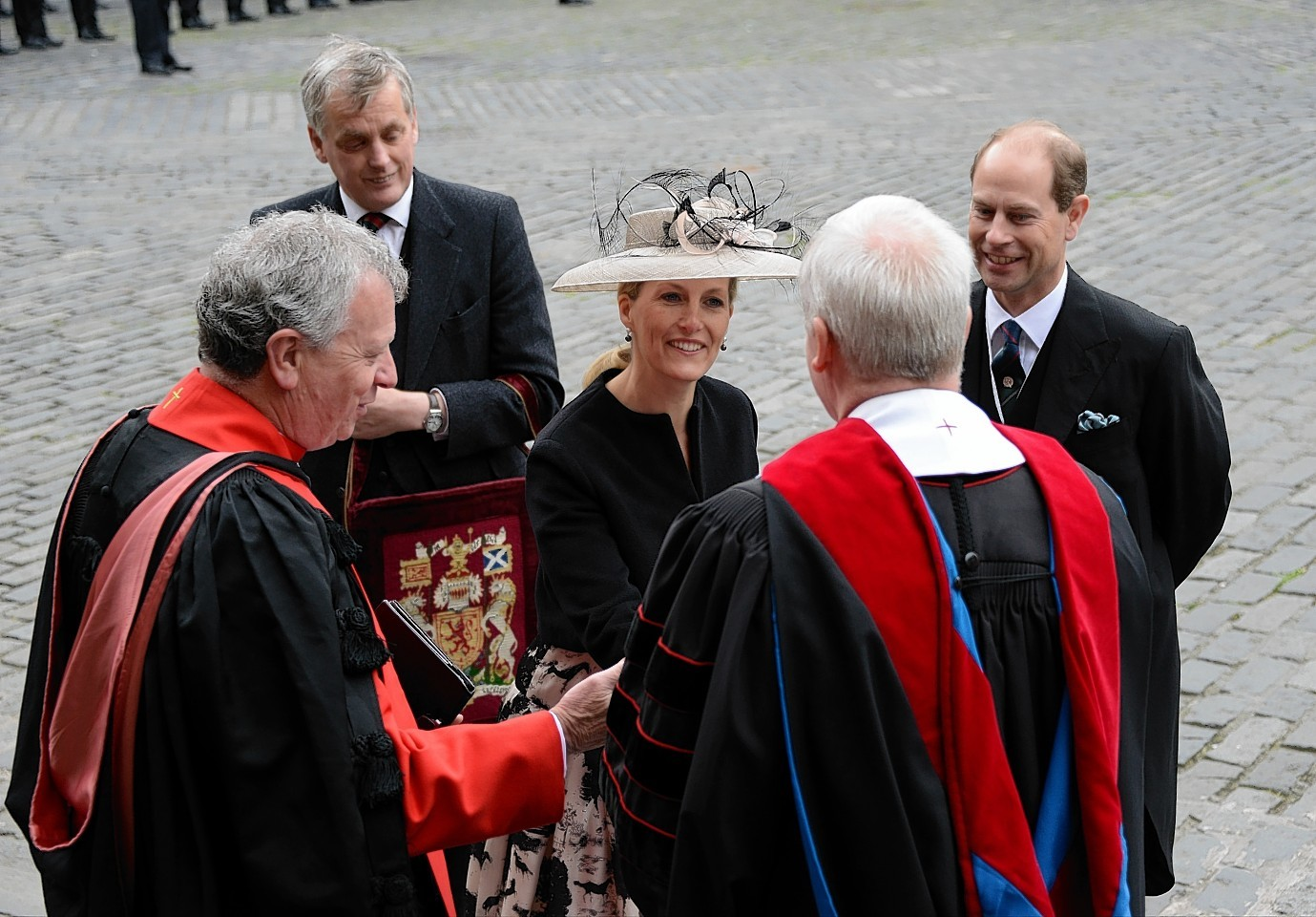 The Earl and Countess of Wessex have already visited Edinburgh earlier this week