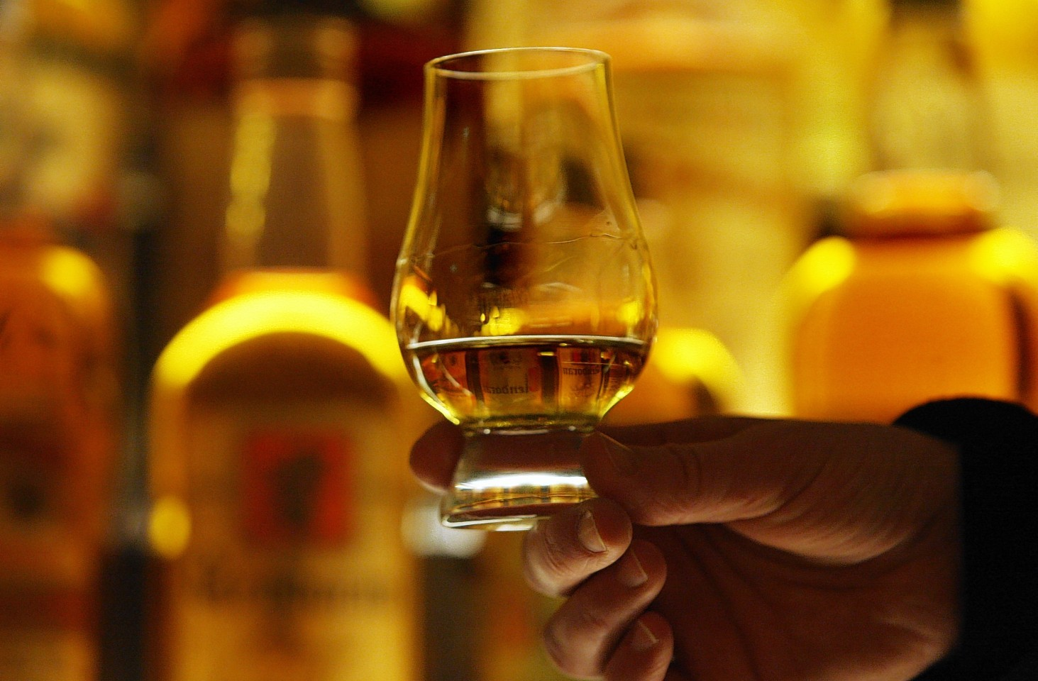 Scotch sales continued to increase in the U.S. last year.