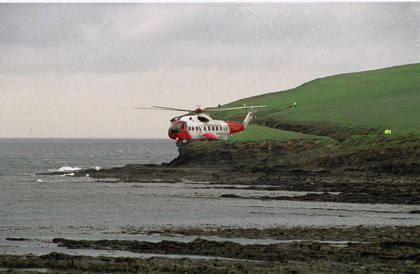 Shetland Coastguard were called at around 7pm