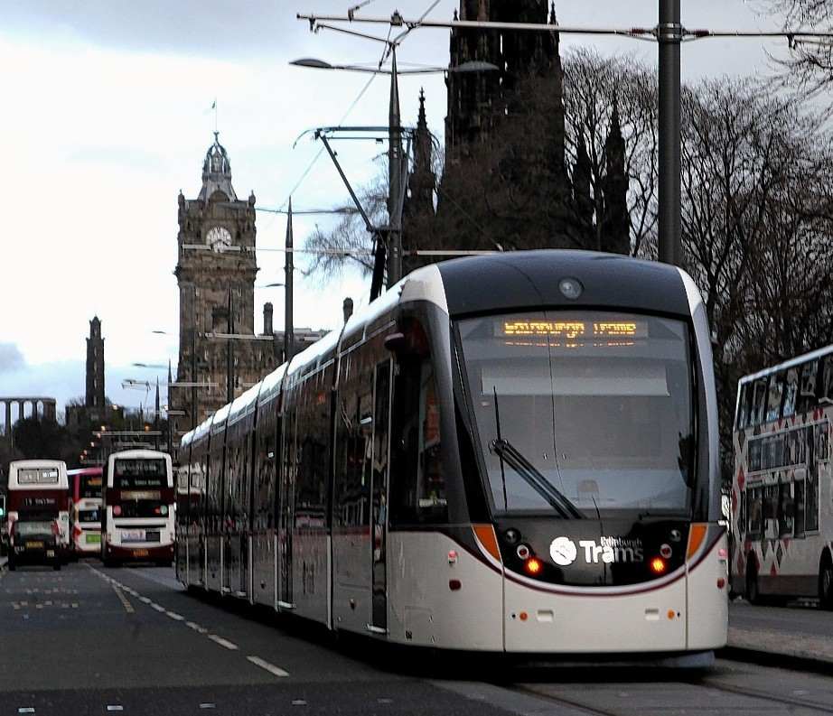 Edinburgh trams have recently started operating for the public