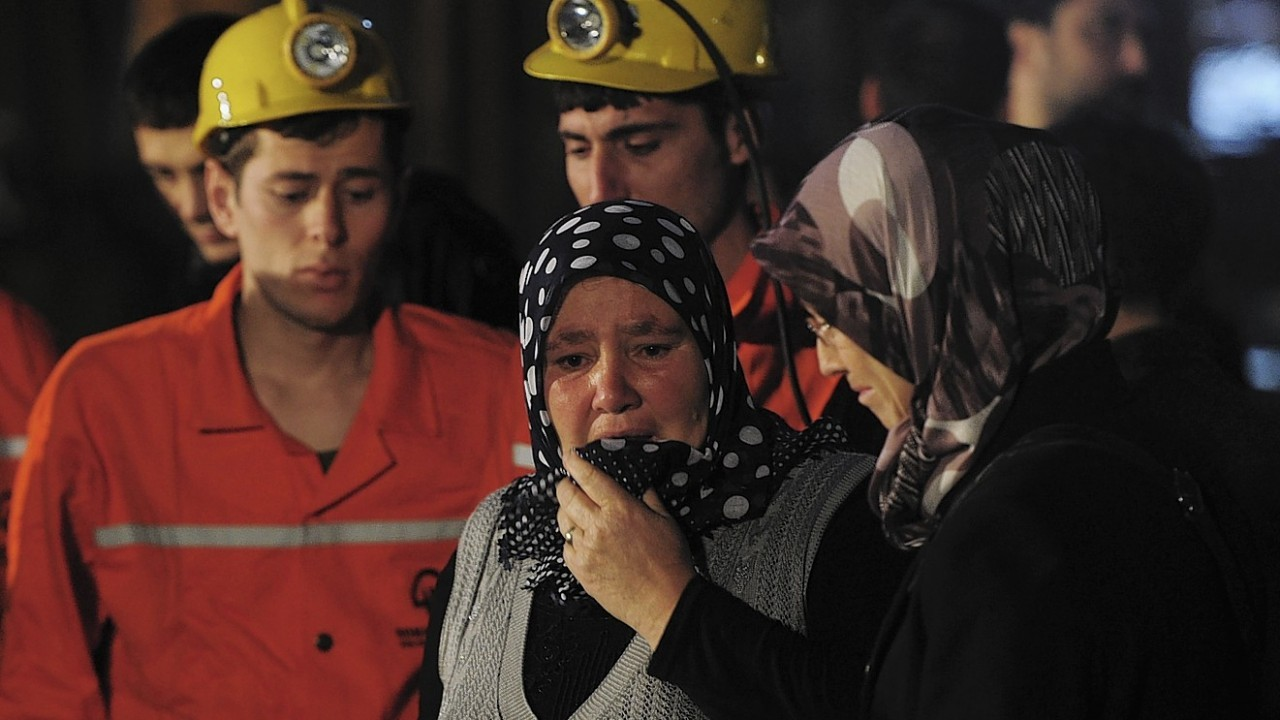 Harrowing pictures from the Turkey mine explosion