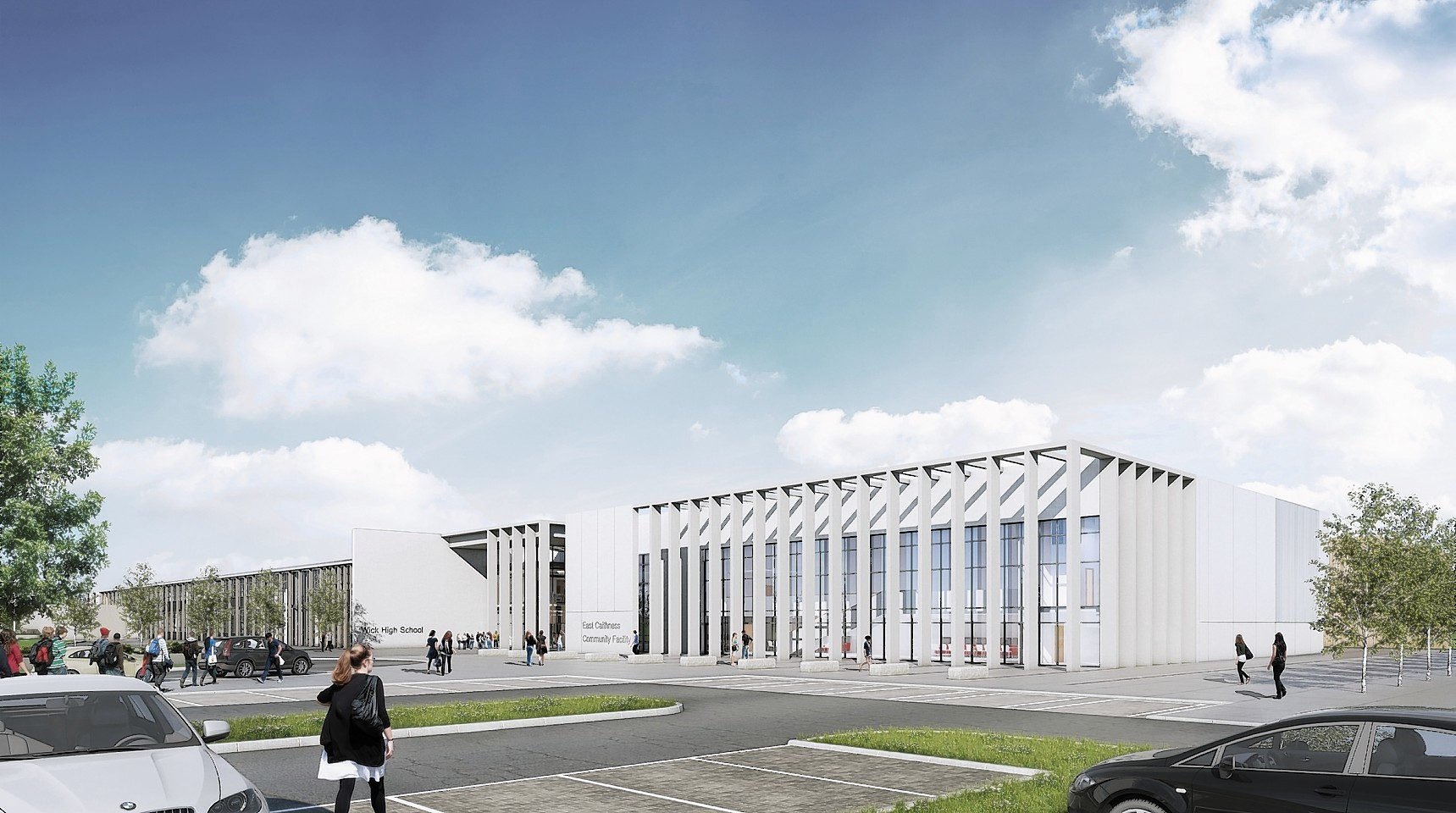 What Are Morrison Construction Building In Inverurie