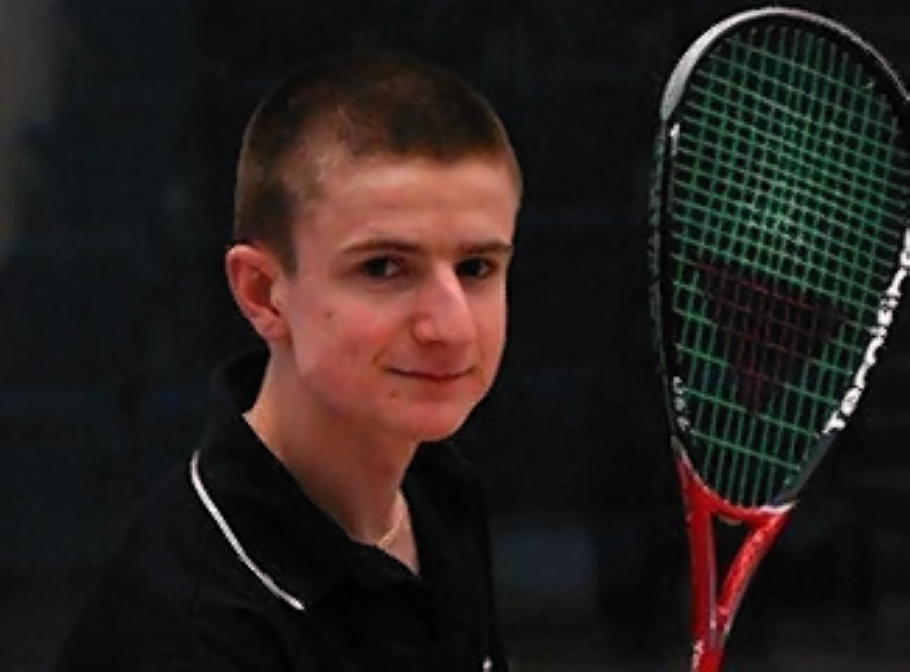 Inverness squash player Alan Clyne