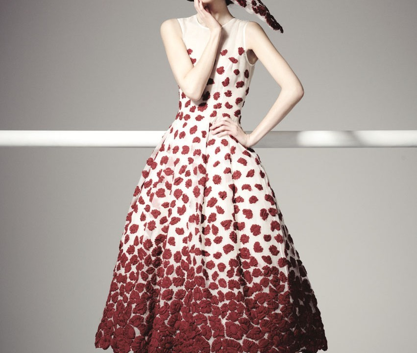 Dress and hat - John Rocha