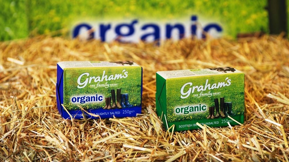 Scottish dairy produce includes a range of butter from Graham's The Family Dairy