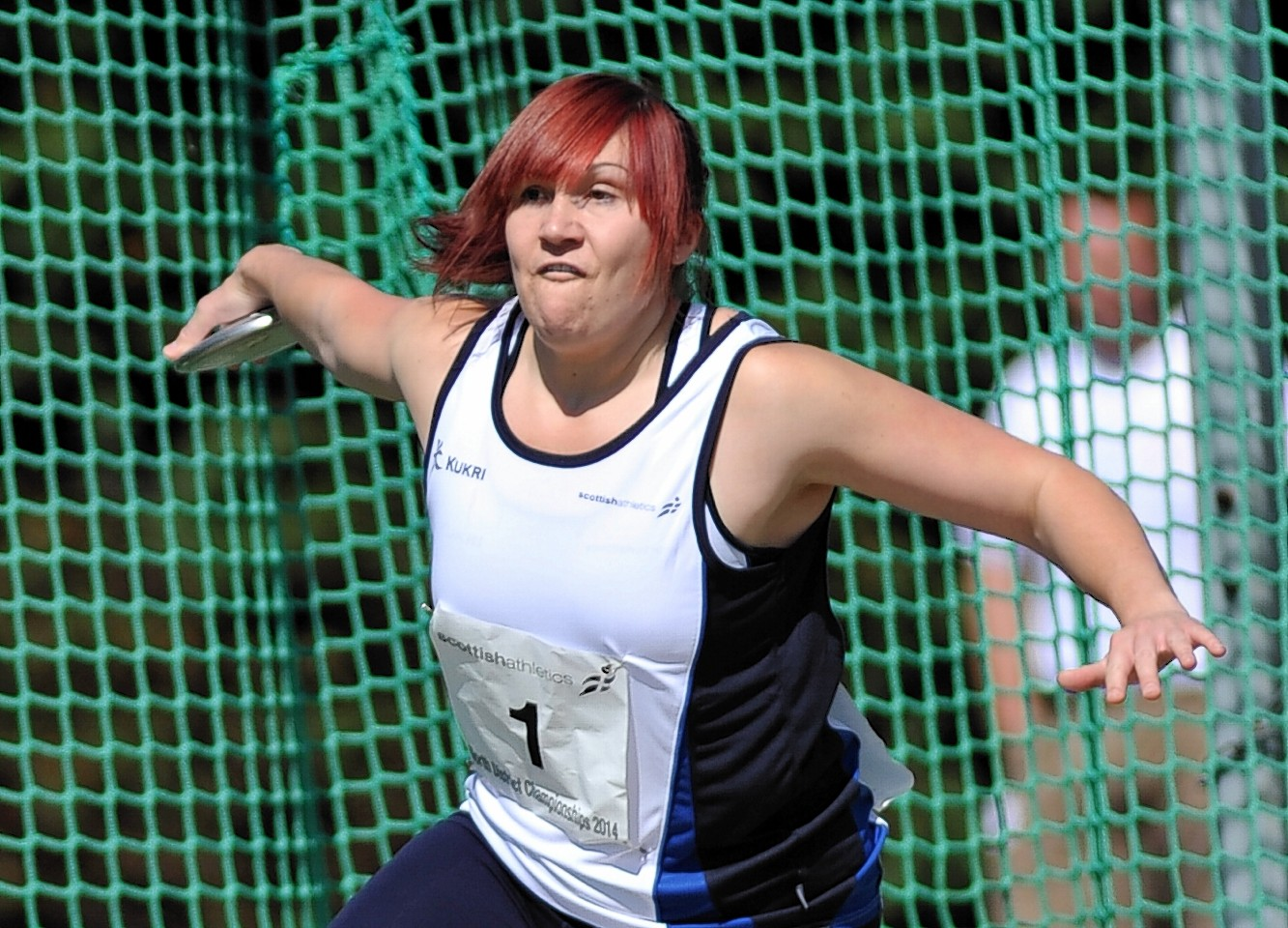 DIscus thrower Kirsty Law