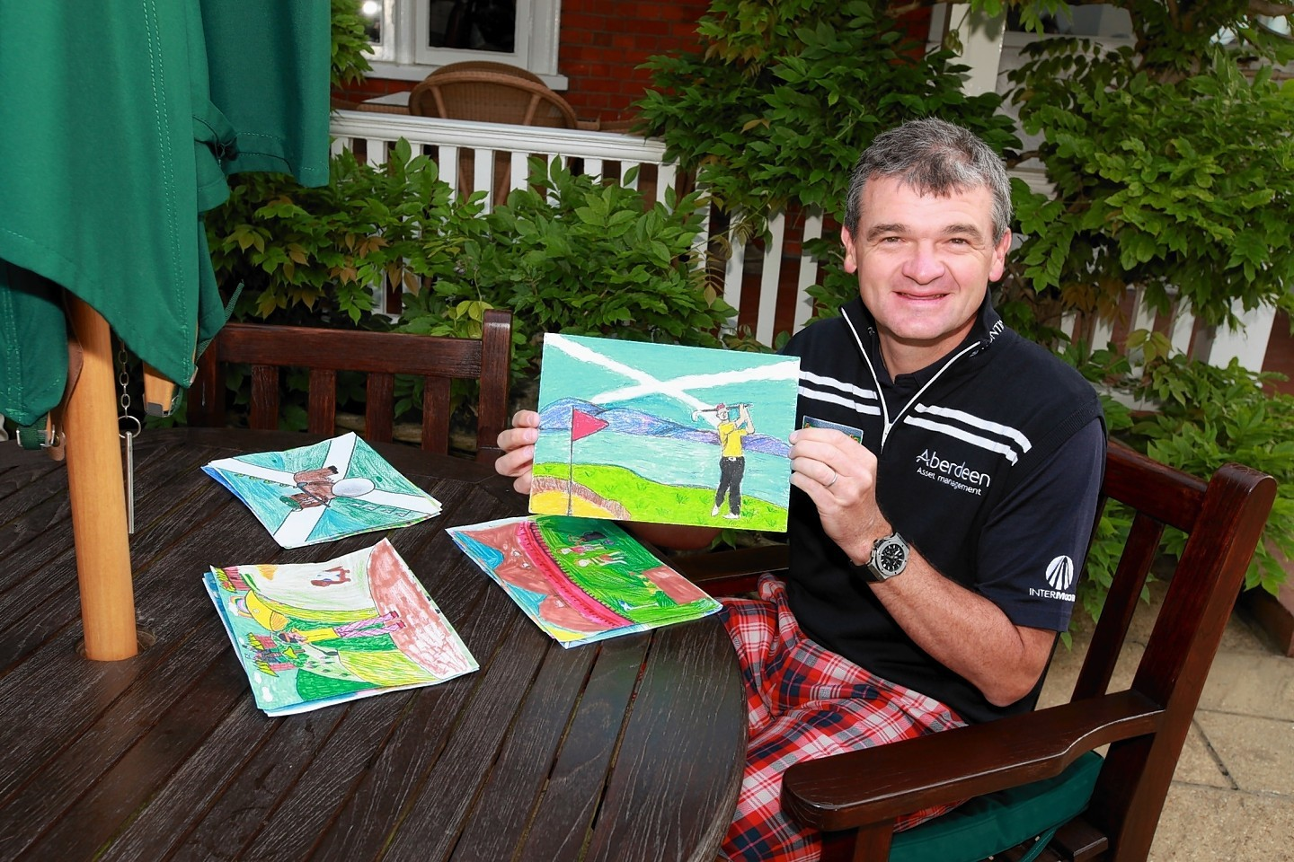 Entries will be judged by a panel which includes former Open champion Paul Lawrie.