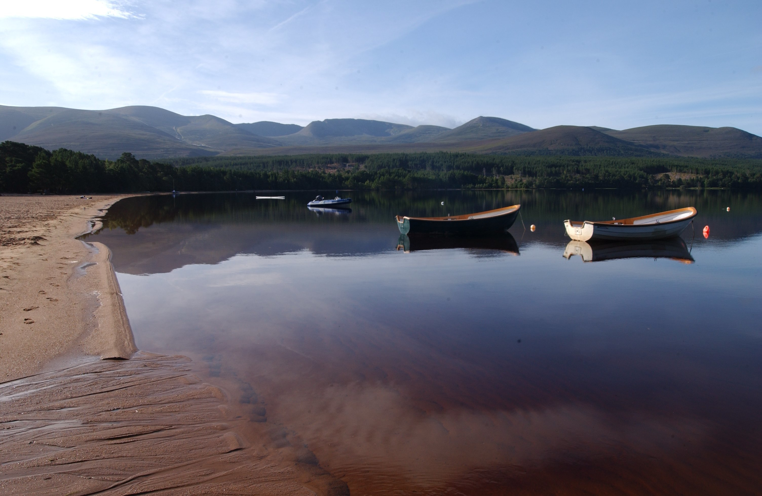 Loch Morlich beach has won the Rural Beach Award five years on the trot