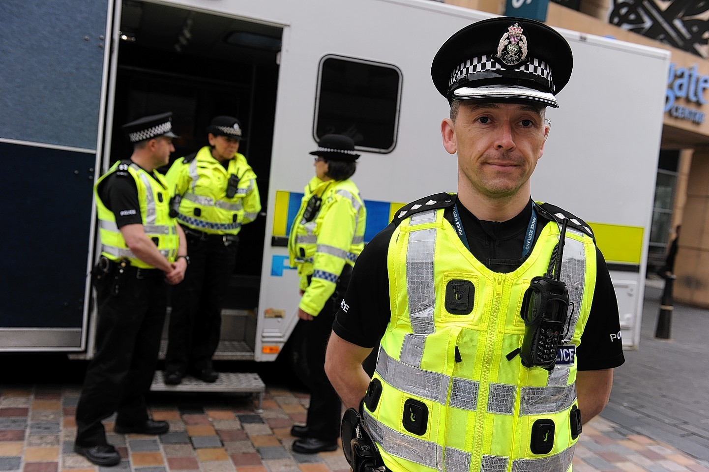 A new mobile police station is set for Inverness
