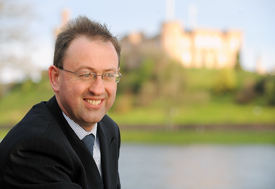 Stewart Nicol, chief executive of Inverness Chamber of Commerce.