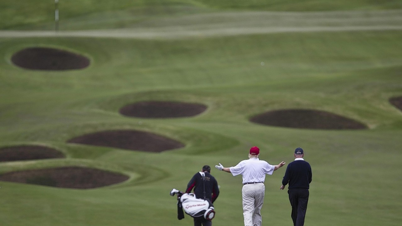Donald Trump's course at Menie Estate, Aberdeenshire