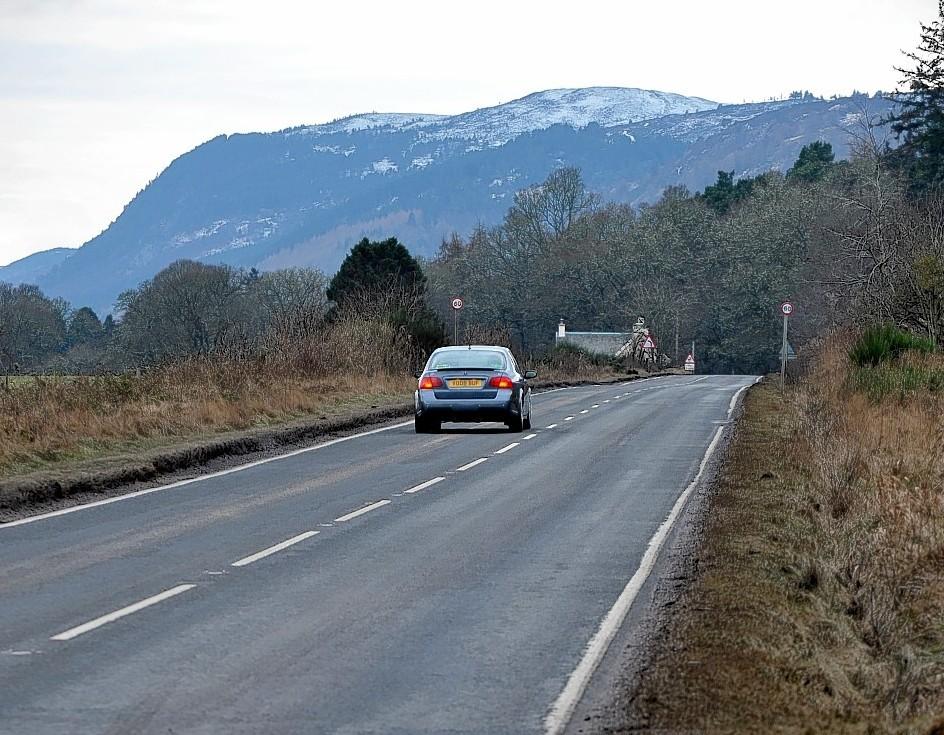 The A82 at Dunain