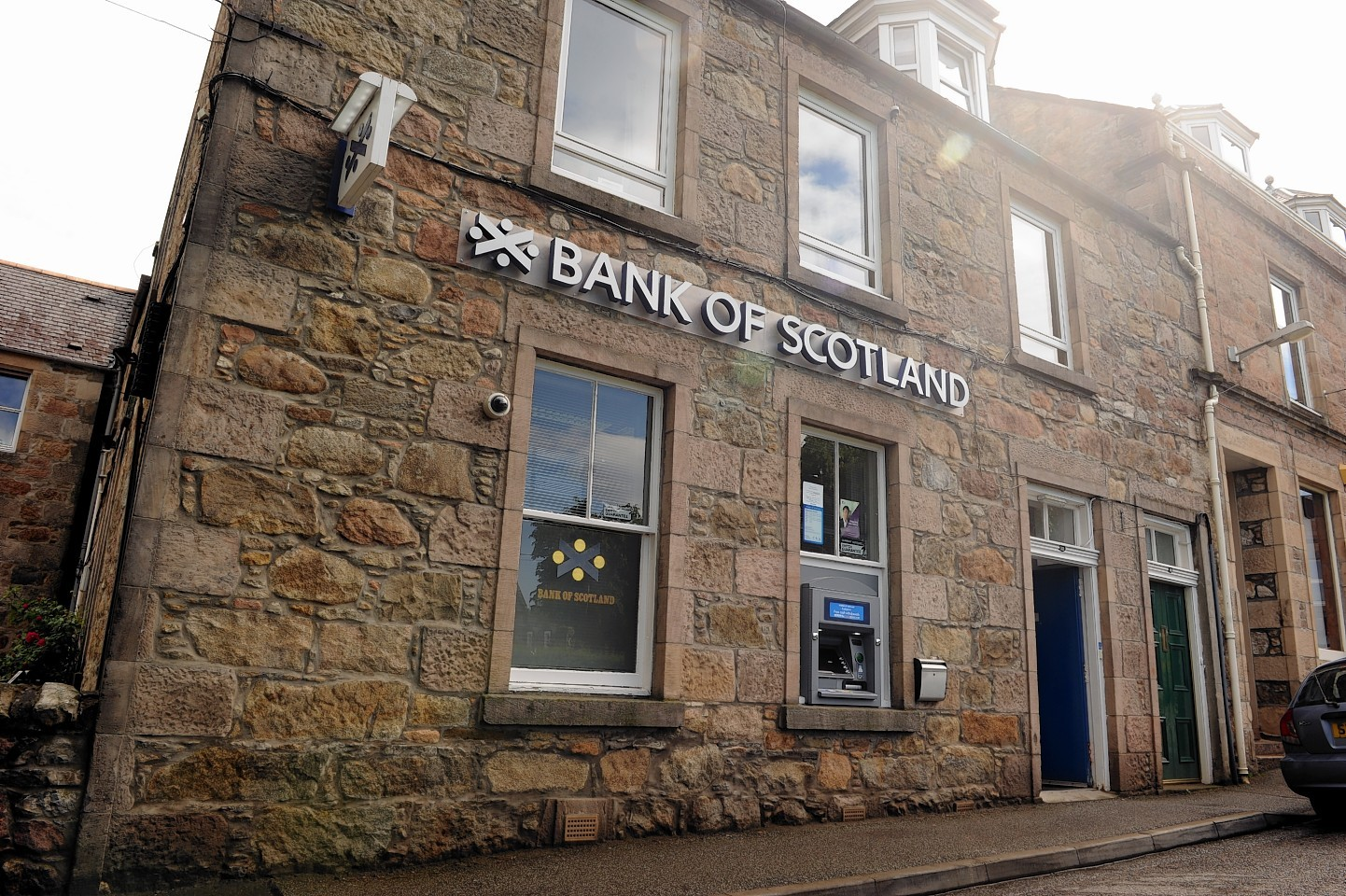 Bank of Scotland in Aberlour