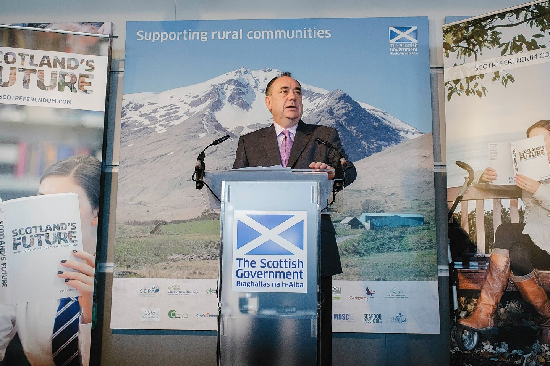 Alex Salmond at the Royal Highland Show
