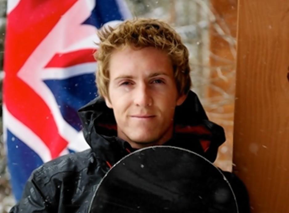 Banchory snowboarder Ben Kilner