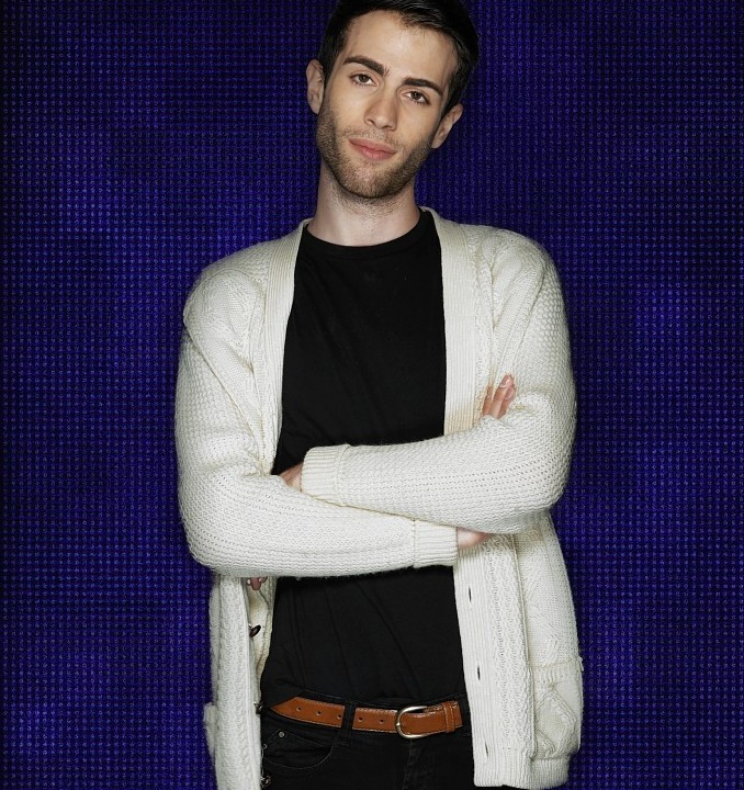 Matthew Davies who is one of the 10 housemates who entered the Big Brother house