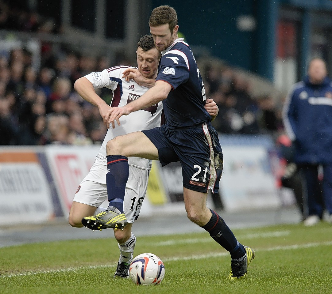 Brian McLean in action