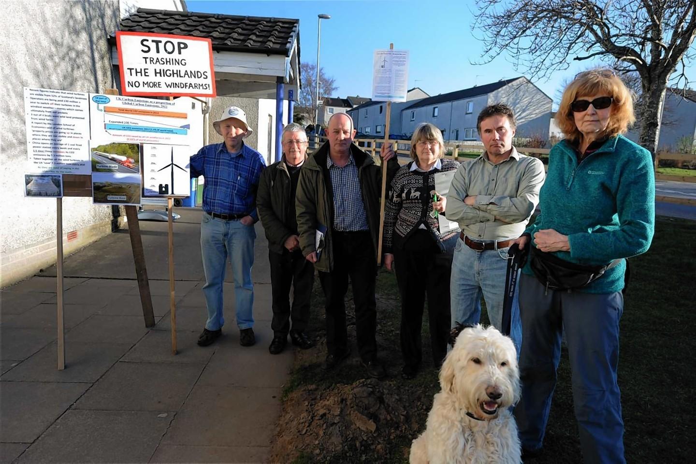 Brown Muir protesters