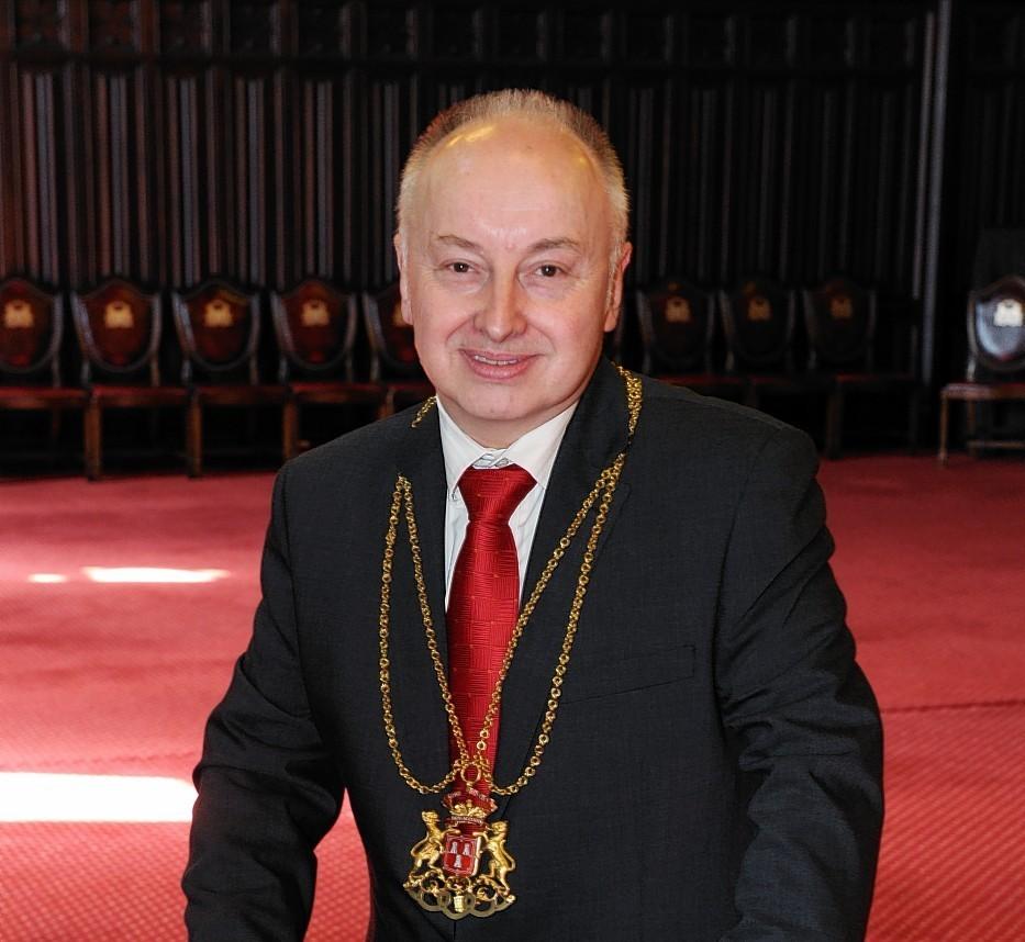 Aberdeen Lord Provost George Adam