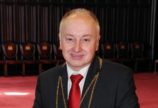 Former Aberdeen Lord Provost George Adam