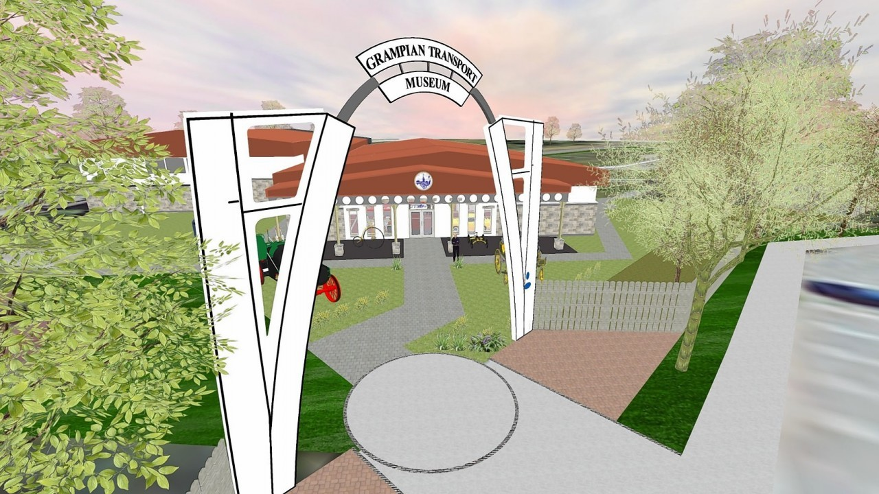 Work to transform north east museum into 5 star attraction for Five star motors aberdeen