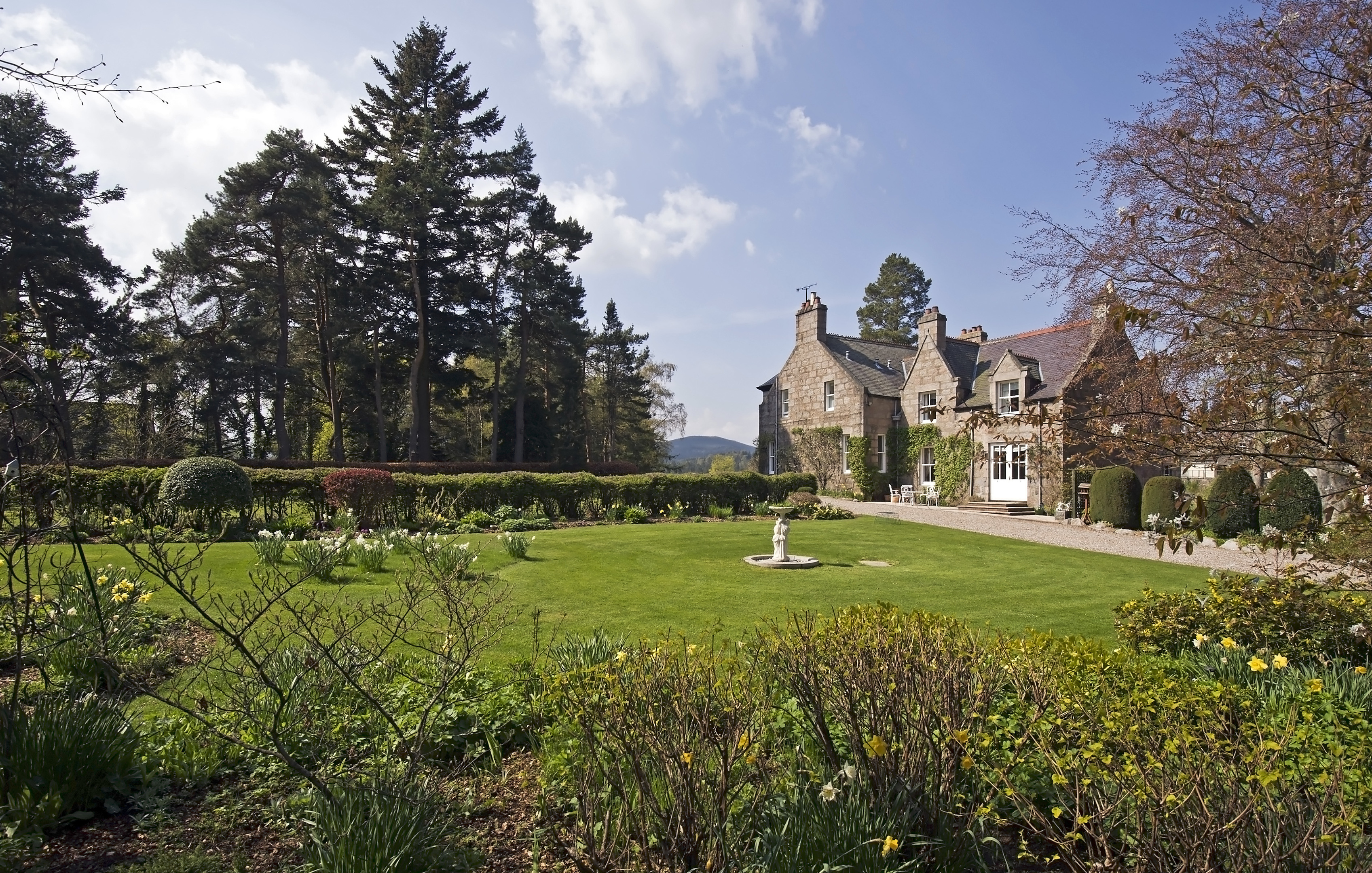 Captain s home is nelsons glory press and journal for Garden offices for sale scotland