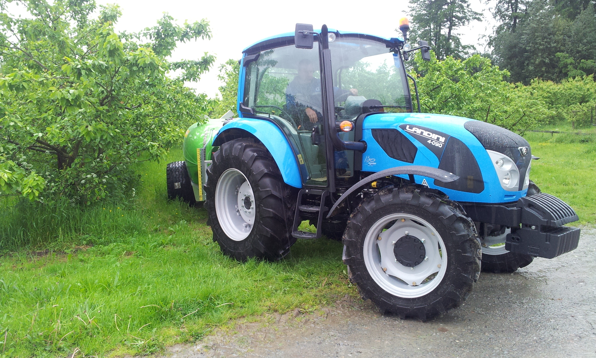 A tractor from the new Landini 4 Series range