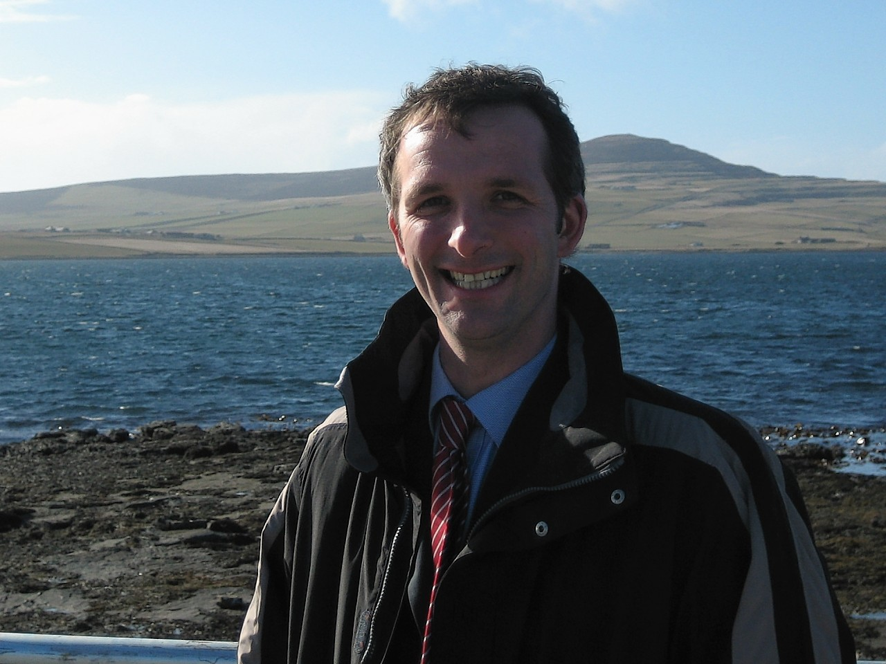 Orkney MSP Liam McArthur