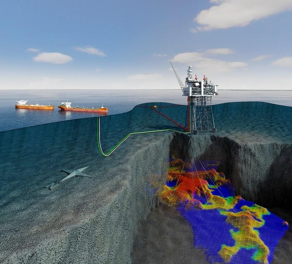 An artist's impression of Statoil's Mariner development