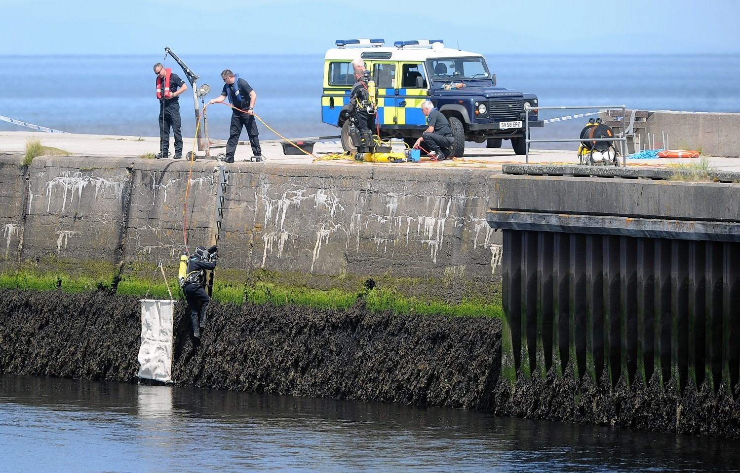 River Nairn body search