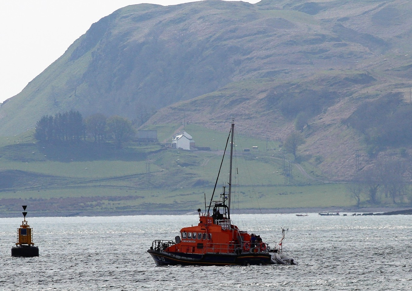 Oban lifeboat has had a busy day, following three call-outs