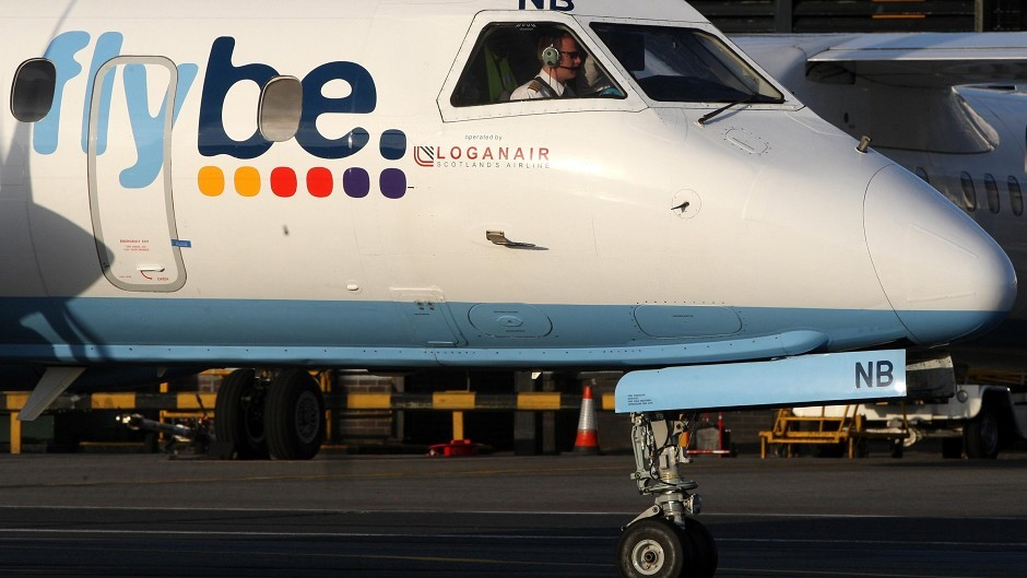 Flybe axes vital Scottish islands contract with Loganair