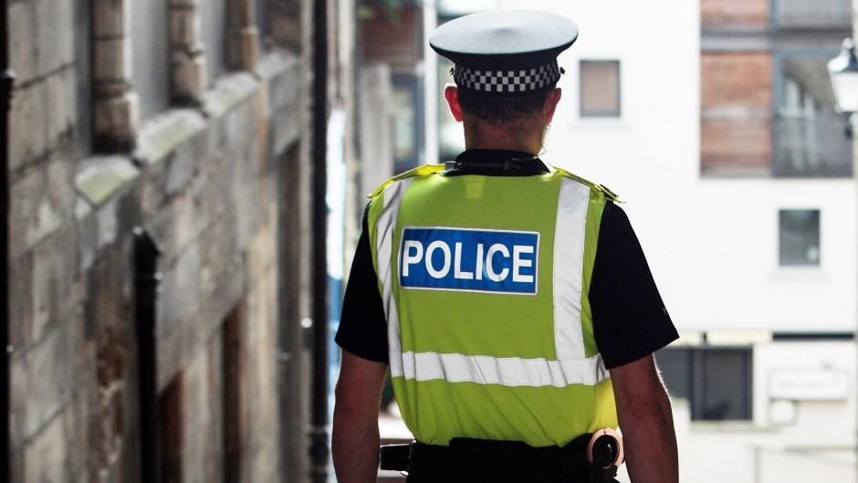 Police are appealing for help in finding thieves who stole a car from a church in Turriff