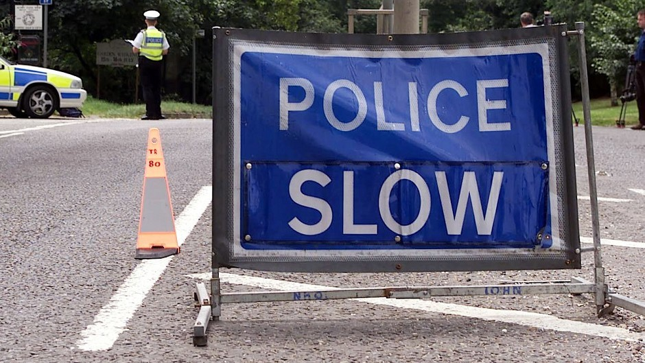 Emergency services are on scene at a crash on the A98 near Buckie